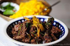 Indonezyjski beef rendang