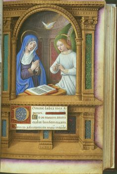 Book of Hours, about 1515, Jean Bourdichon, French (Tours), 1457-1521, Illumination on parchment, page size 16.7 x 10.5 cm