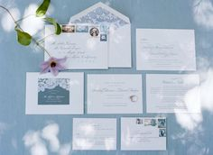 Whimsical Blue Outdoor California Wedding
