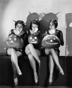 When Halloween was good clean fun! 2Cute! Devil Trio