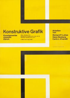 Konstruktive Grafik by Neuberg, Hans | Vintage Posters at International Poster Gallery