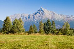 View on mountains of High Tatras and peak Krivan High Tatras, Heart Of Europe, Danube River, Mountain High, Bratislava, Countries Of The World, Capital City, Homeland, Beautiful World
