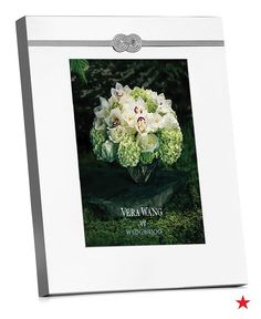 A beautiful and budget-friendly wedding gift can exist! Vera Wang Wedgwood's silver plate picture frame is a gorgeous keepsake for the happy couple and costs under $100!
