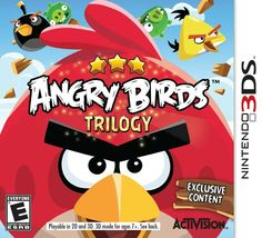 Angry Birds Trilogy game Nintendo 3DS XL