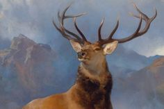 Sir Edwin Landseer's painting, The Monarch of the Glen,