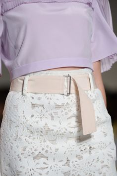 Pin for Later: The Best Shoes, Bags, and Baubles on the 2015 Runways (Updated!) Rebecca Taylor Spring 2015