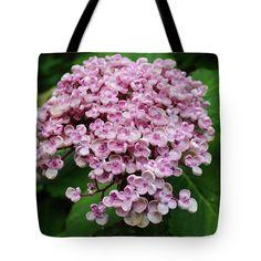 Pink Hydrangea Tote Bag by Rumyana Whitcher