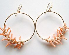 Pink Mint Earrings C