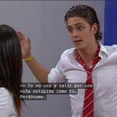 Diego y Roberta #DulceMaria #ChristopherUckermann #Rebelde #RBD
