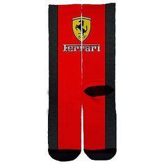 Luxury Cars: Memo Socks- Ferrari ! Sports Car Red Luxury Jordans Jordan Sock Elite Elites BUY IT NOW ONLY: $17.99