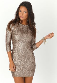 This would make for one incredible new year's eve dress!