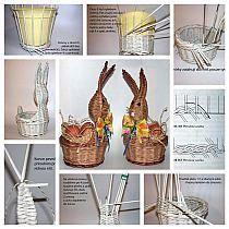 Wiklina papierowa - Stylowi.pl - Odkrywaj, kolekcjonuj, kupuj Newspaper Art And Craft, Newspaper Basket, Recycled Paper Crafts, Cardboard Crafts, Paper Weaving, Weaving Art, Sun Paper, Basket Weaving Patterns, Willow Weaving