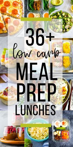 Low carb lunch recipes that work great for meal prep! Tons of ideas that you can pack in your lunch, and net carb counts are listed for you! #sweetpeasandsaffron #mealprep #lowcarb via @sweetpeasaffron