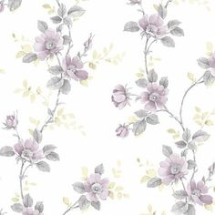 Watercolor poppies and leaves create vined rows in this design. Beautiful variations in tone blend well. A soft emboss naturally pairs well with this design. Tapestry Wallpaper, Trellis Wallpaper, Brick Wallpaper Roll, Botanical Wallpaper, Botanical Prints, Embossed Wallpaper, Textured Wallpaper, Pink And Grey Wallpaper, Watercolor Poppies
