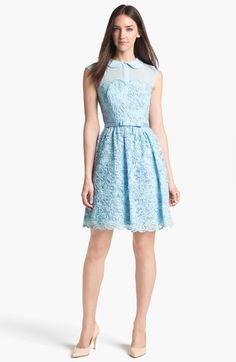 Ted Baker London Lace Fit & Flare Dress (Online Only) available at #Nordstrom