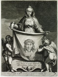 "theraccolta: ""Jacob Matham after Abraham Bloemaert Veronica's Veil, 1605 "" Veil Of Veronica, St Veronica, Catholic Art, Religious Art, Holy Mary, Masonic Art, Christian Mysticism, Linear Art, Harvard Art Museum"