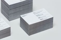 Duplex business cards for Rellish designed by Delivered By Post.