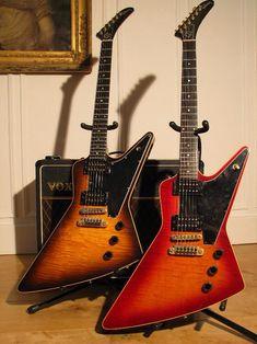 A couple of Gibson E2s