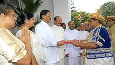 The grand religious festival of Esala Perahera in Sri Lanka came to a successful end Thursday with the water cutting ceremony and the presentation of the Sannasa to the President Maithripala Sirisena.