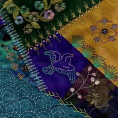 I ❤ crazy quilting & embroidery . . .  Hearts and Hands for Sendai ~By Stitch Empress
