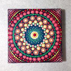 Acrylmalerei - Original Meditation Mandala Bild - ein Designerstück von CreateAndCherish bei DaWanda