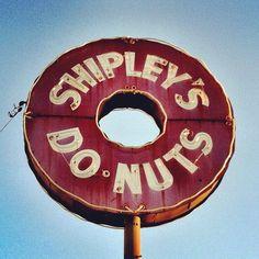 Shipley's Donuts...in Arlington, Tx. The best!