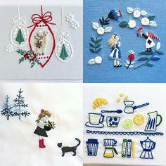 西荻窪の刺繍教室『アンナとラパン』参加者さんの作品。 クリスマスの図案は「annasの草花と動物のかわいい刺繍」河出書房新社に載っています。 最近される方が多いです。そろそろですしね。 大作ばかりだったので、4個だけにしてみました☆ ・ ・ #刺繍  #Christmas #クリスマス  #手刺繍  #embroidery #embroidered #needlework #手芸 #ステッチ #刺しゅう #ハンドメイド #자수 #ししゅう #手作り #手芸 #ハンドメイド  #手芸部 #刺繡  #アリス #不思議の国のアリス #アリスインワンダーランド #aliceinwonderland #alice #aliceimwunderland #christmas2016 #チクチク部 #刺繍部