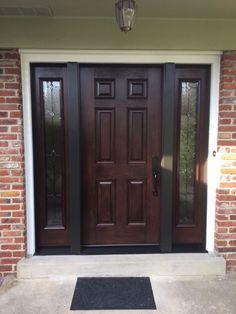 Installed by Chapman Windows, Doors & Siding. Grand Entrance, Garage Doors, Windows, Outdoor Decor, Home Decor, Puertas, Decoration Home, Room Decor, Interior Design