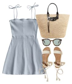 """""""Untitled #5162"""" by theeuropeancloset on Polyvore featuring Hollister Co., Balenciaga and Gentle Monster"""