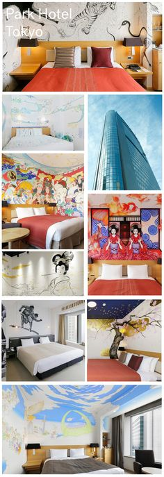 ART (Atrium, Restaurants and Travel) concept, and offering traditional Japanese hospitality stimulating the aesthetic senses of tradition. Art Hotel ! Learn more at vossy.com #parkhoteltokyo #tokyo