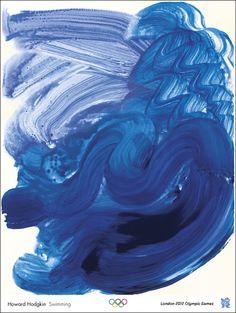 Affiches d'artistes pour les Jeux Olympiques 2012 - La boite verte