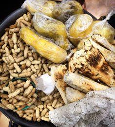 Eulogy to Zambian Street Food - Bad Vegan Lady Zambian Food, Jollof Rice, Roasted Corn, Snacks For Work, Healthy Options, Fritters, Street Food, Healthy Snacks, Africa