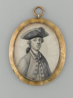 """""""Major James Wolfe"""" by James Ferguson (1750) at the National Army Museum, London - According to the curators, this miniature was owned by Robert Monckton, where it was passed down through the generations. Monckton was likely the one of Wolfe's three brigadier generals in 1759 who got along best with him - the fact that Monckton held on to this miniature portrait lends some proof to the theory, as does the fact that he alone appears in West's painting of Wolfe's death, unlike the other two."""
