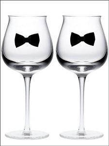 Výsledok vyhľadávania obrázkov pre dopyt wedding glass black bow tie