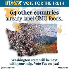 64 other countries already label GMO foods, so why not the U.S.? Learn more here: https://www.facebook.com/GmoInside