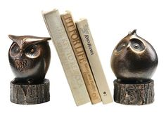 Owl Bookends. Cute!