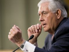 The Senate voted to confirm former Exxon CEO Rex Tillerson as President Donald Trump's Secretary of State Wednesday afternoon, 56 to House Of Saud, Rex Tillerson, Breitbart News, Big Government, Good Job, Human Rights, Climate Change