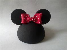 Topo+de+Bolo+-+Cabeça+da+Minnie+! R$ 38,50