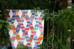 Terrain by Kate Spain and Hugs & Kisses Quilt Pattern