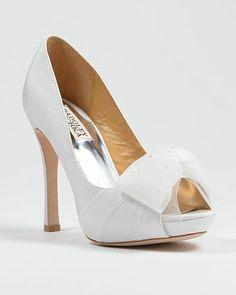 Badgley Mischka Zali Bridal Shoe