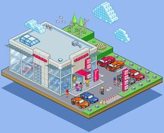 Honda Dealership... by ~gunstar-red on deviantART