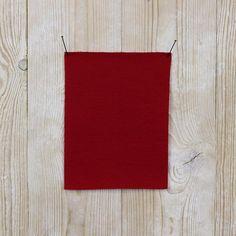 Merino Fleece - Cherry Red