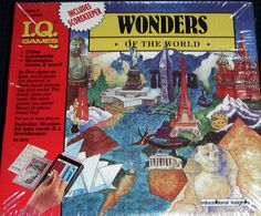 I.Q. Games Wonders of The World. In five clues or less, you will guess the answers to these mind stretching quiz cards. The fewer clues you need, the more points you score!