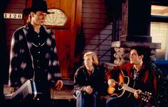 THE THING CALLED LOVE, River Phoenix, Samantha Mathis, Dermot Mulroney, 1993   Essential Film Stars, River Phoenix http://gay-themed-films.com/river-phoenix/