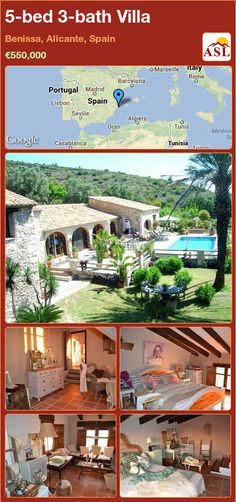 5-bed 3-bath Villa in Benissa, Alicante, Spain ►€550,000 #PropertyForSaleInSpain