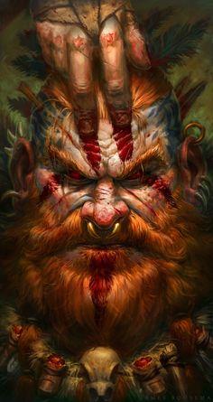 ArtStation - Blood Barbarian, James Bousema