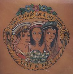 """For Sale - Salt N Pepa Ain't Nuthin' But A She Thing USA Promo  CD single (CD5 / 5"""") - See this and 250,000 other rare & vintage vinyl records, singles, LPs & CDs at http://eil.com"""