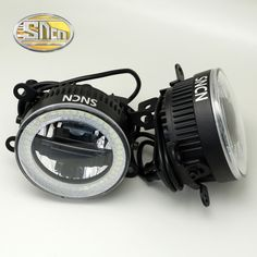 SNCN Safety Driving LED Angel Eyes Daytime Running Light Auto Bulb Fog Lamp For Acura MDX 2014 20153-IN-1 Functions