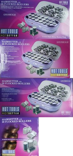 Rollers and Curlers: New Hot Tools 20 Pcs Tourmaline Hairsetter #Hts1403 - Fast Shipping -> BUY IT NOW ONLY: $69.95 on eBay!