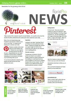 October 12 floristPro News